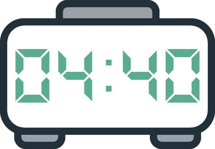 04 40 Saat Anlamı