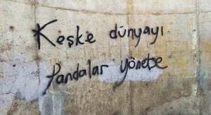 komik duvar yazıları