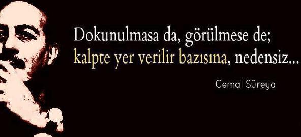 Cemal Süreyya Sözleri